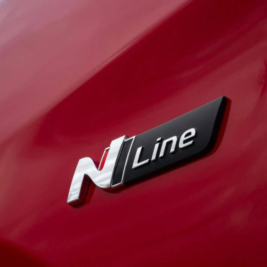 Hyundai N Line Badge