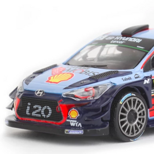 Hyundai i20 Coupe WRC  Team Model Car 1:43 scale - Save On RRP ! - NSport Ltd Store