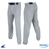 Pinstripped T-Ball Pants - Gray