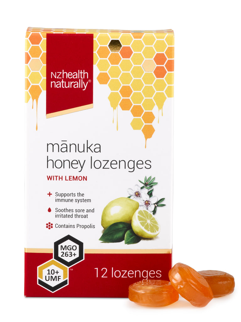 UMF 10+ Mānuka Honey Lozenges - Lemon
