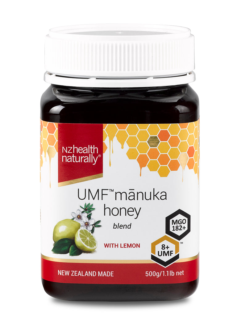 UMF Mānuka Honey 8+ with Lemon