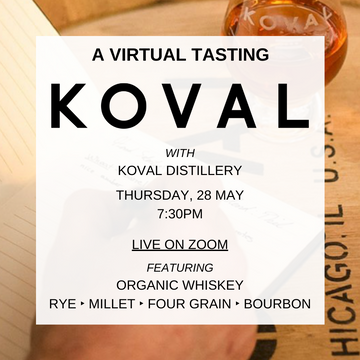 EVENT VIRTUAL MASTER CLASS: TDH + KOVAL