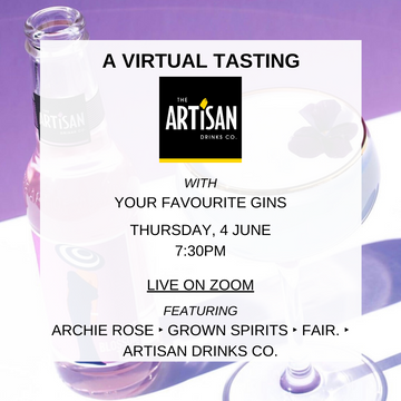 EVENT VIRTUAL MASTER CLASS: TDH + HOW TO MAKE THE PERFECT G&T