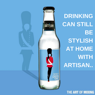 Artisan Drinks - Skinny London Tonic 24x200ml