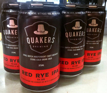 Quakers Hat Red Rye IPA 6pk