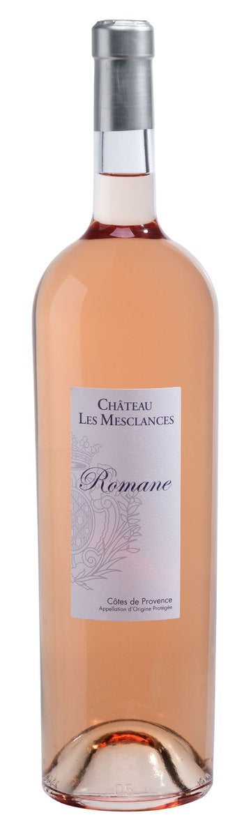 Chateau Les Mesclances Romane Rose Double Magnum 3L