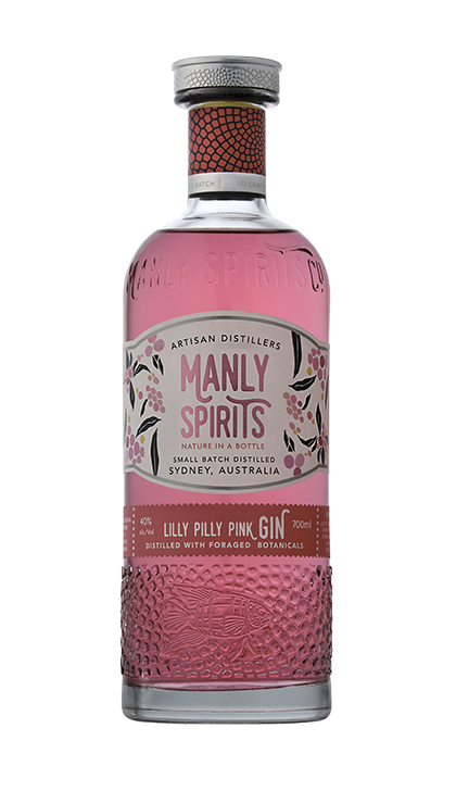 Manly Spirits Lilly Pilly Pink Gin
