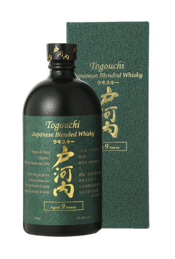 Togouchi 9 years 40% 700ml