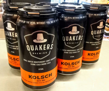 Quakers Hat Kolsch 6pk