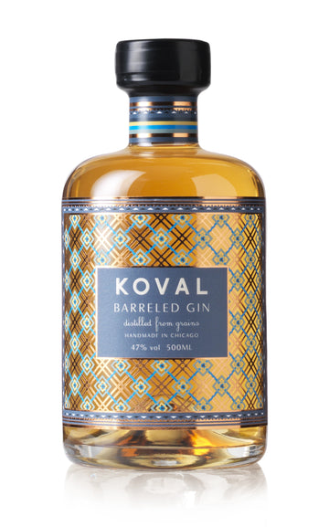 Koval Barrel Aged Gin 500ml