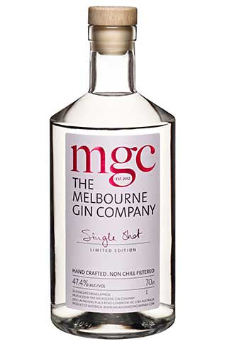Melbourne Gin Company Single Shot Limited Edition Gin 700ml