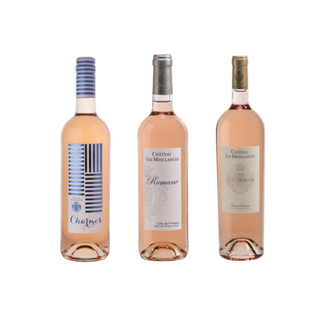 Rosé All Day Mix 6 of Charmes, Romane & Saint Honorat Rosé