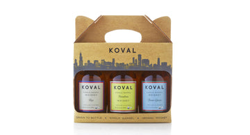 KOVAL Whiskey Gift Pack - 3x200ml (Limited Edition)
