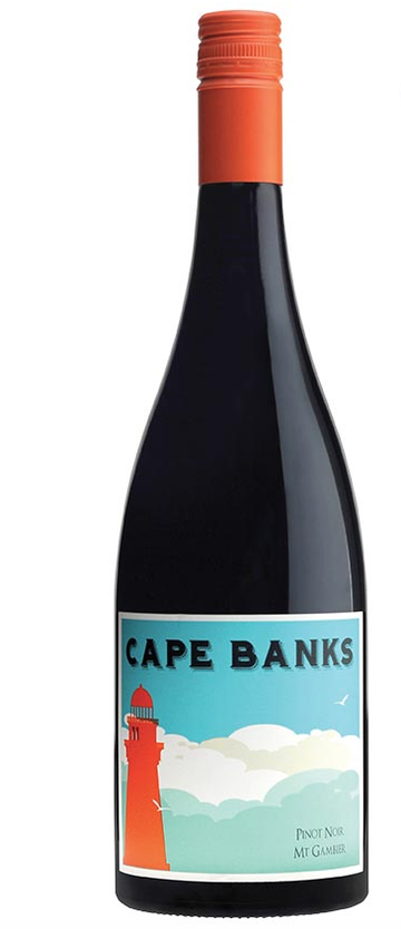 Cape Banks Pinot Noir - Mt Gambier