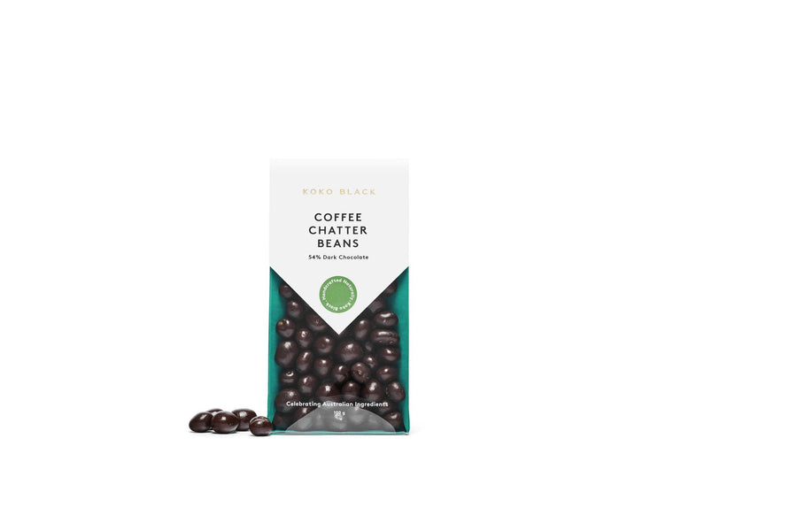 Coffee Chatter Beans 100g | Dark Chocolate