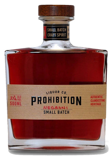Prohibition Negroni Gin 500ml