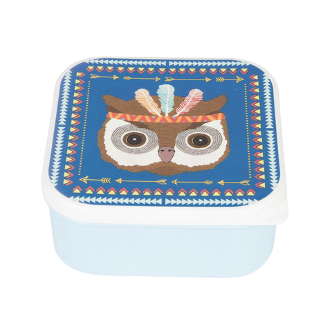 Snack Box Tribal Adventure Owl