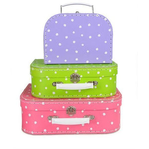 Suitcase - Coloured Spots (sold separately)