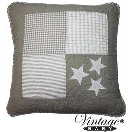 Natural Star Square Cushion