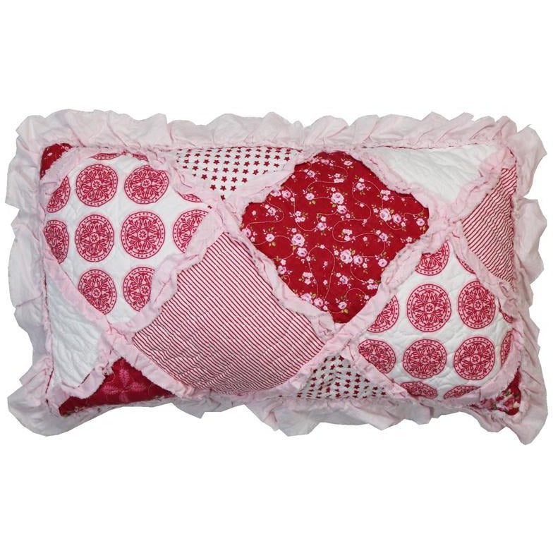 Scarlet Rose Decorative Cushion