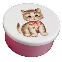 Snack Box Kitty Pink Bow