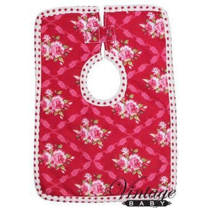 VB Scarlet Large Rose Bib