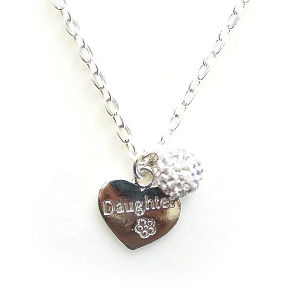 Daughter Charm Necklace
