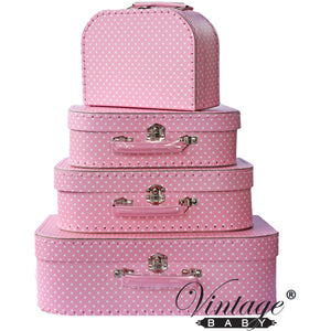 Suitcase - Mini Pink Spot (sold separately)