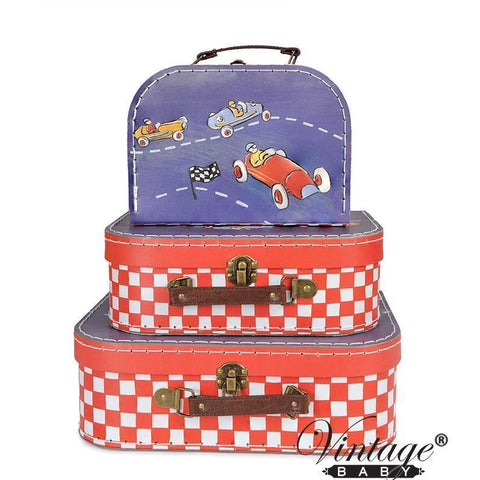 Suitcase - Checker Cars (sold separately)