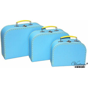 Suitcase - Blue and Yellow (sold separately)