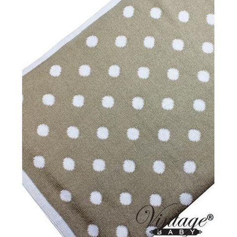 Dottie Baby Blanket Natural