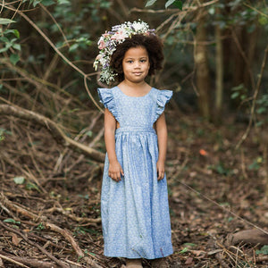 Jack & Jill Maxi Dress - Ditsy Daisy Denim