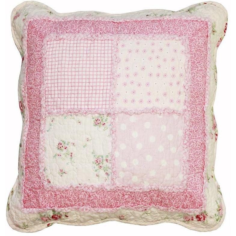 English Rose Square Cushion