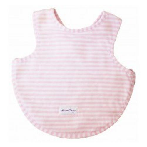 Pink Stripe Arm Hole Bib