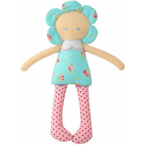 Daisy Doll Turquoise Floral