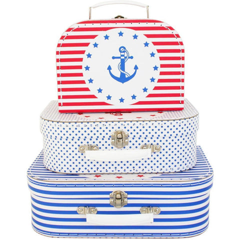 Suitcase - Nautical (sold separately)
