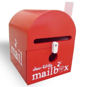 Dear Little Mailbox Red