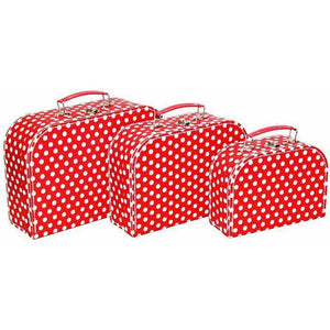 Suitcase - Red Polka Dot (sold separately)