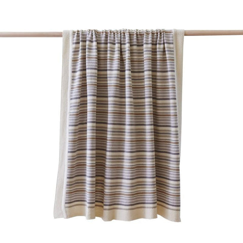 Striped Blanket Natural