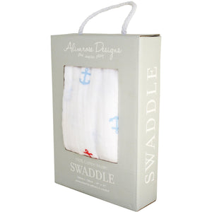 Boxed Muslin Swaddle Anchor