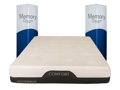 Colchon Memory Foam Confort Memory Dream