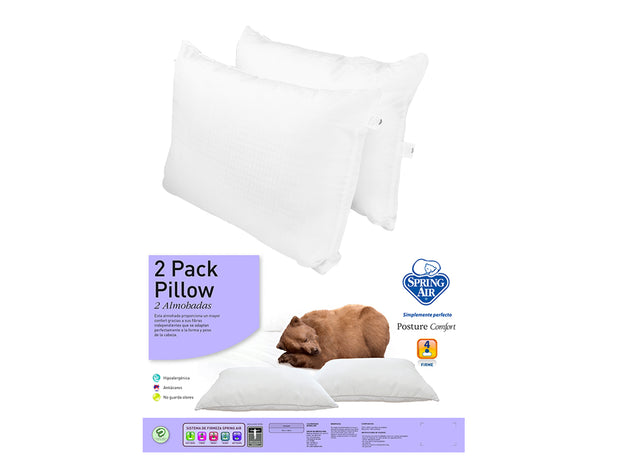 Almohada Spring Air 2 Pack