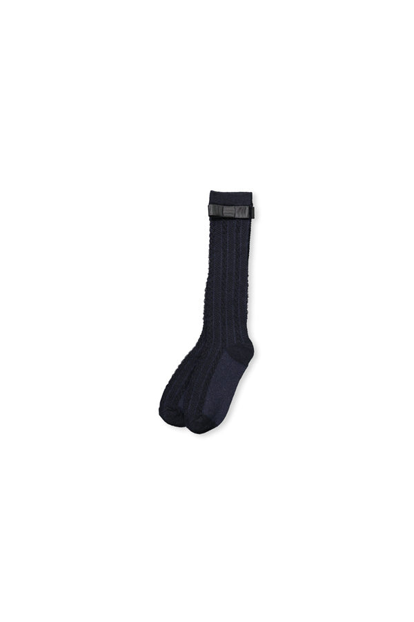 Knee High Socks - Navy