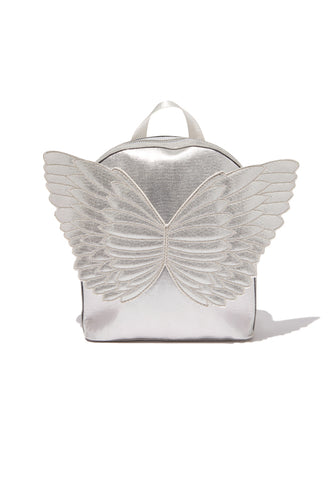 Angel Back Pack- Silver