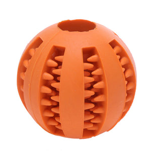Interactive Rubber Ball Dog Toy