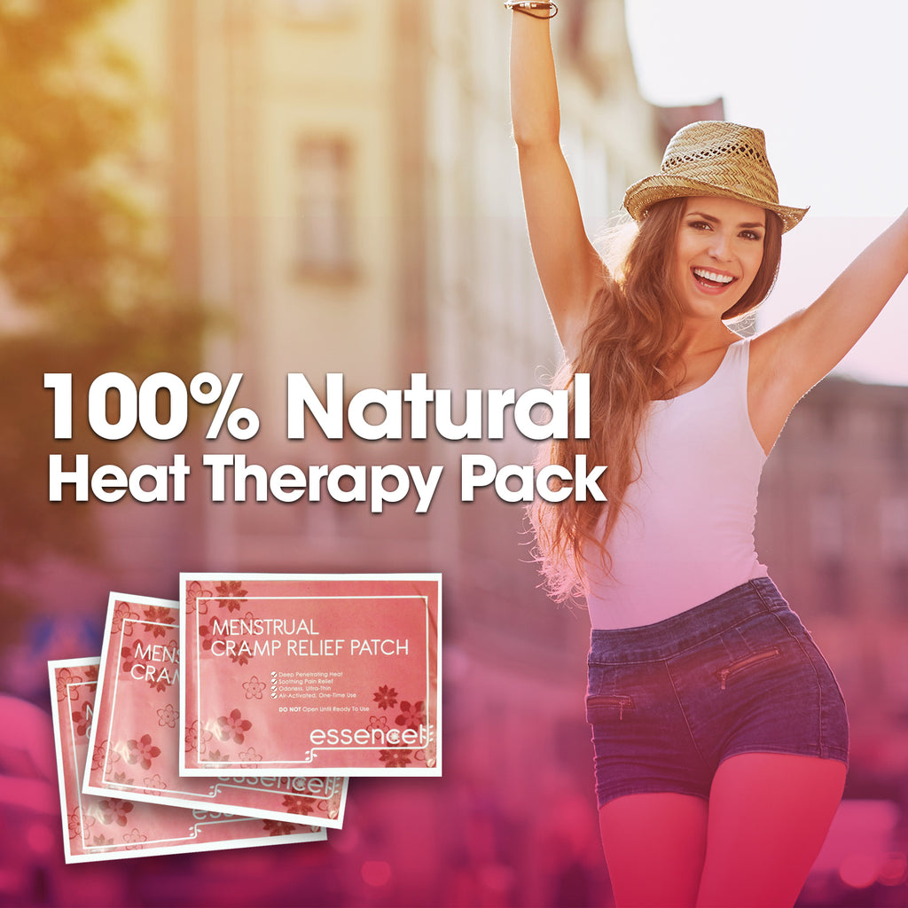 Menstrual Cramp Relief Natural Heating Therapy Patches