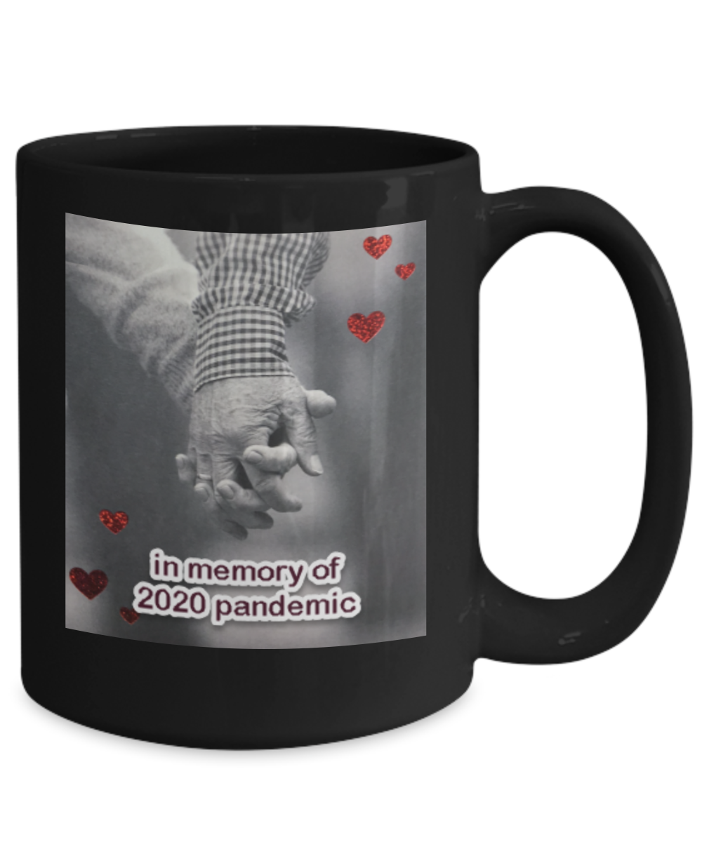 Holding together coffee mug - in memory of 2020 pandemic, great gift