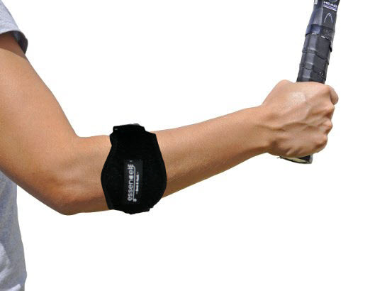 Tennis golf Elbow Brace,  Strap with Compression Pad - bonus Drawstring Carrying Bag
