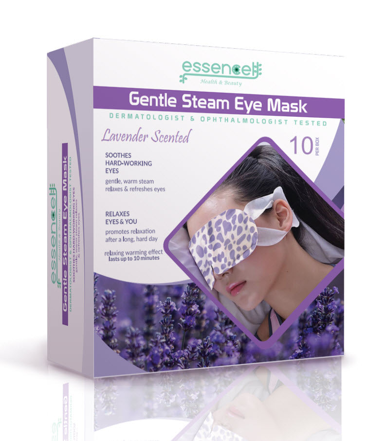 Heat Eye Mask for Sleeping, Dry Puffy Eyes, Dark Circles, Heated Eye Mask for  Travel, Spa Stye treatment ,Disposable