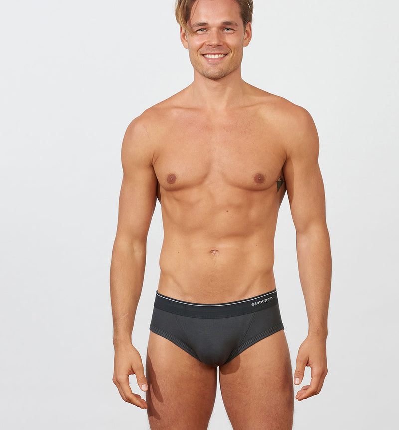 Men's Brief Essentials  /   Marle Grey